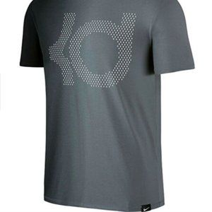 Like New Nike KD Dri-Fit Gray Ombre T-Shirt, Small
